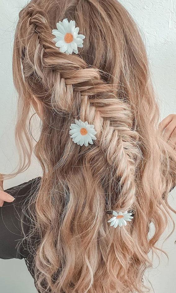 festival braid, bobo braid, half up fishtail braid, braided hairstyles, braided hairstyles for short hair, braided hairstyles, braids hairstyles for school girls, braids hairstyles 2021, braid hairstyles, french braid hairstyles, fishtail braided hairstyle, braided half up, #braidedhairstyle #braids