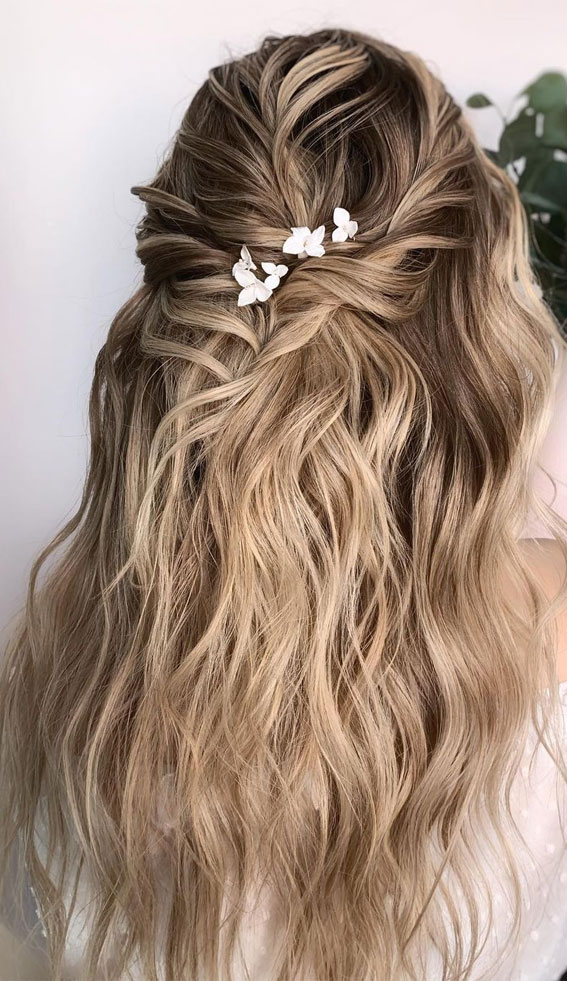 Trendy Half Up Half Down Hairstyles : Half Up & Braid Party