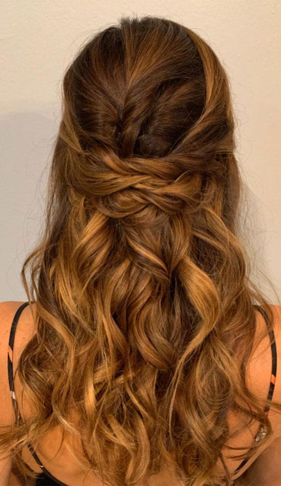 Trendy Half Up Half Down Hairstyles : Half Up on Half Up