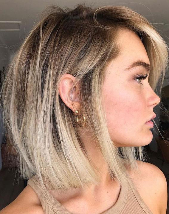 63 Charming hair colour ideas & hairstyles : Minimal lightening, low maintenance