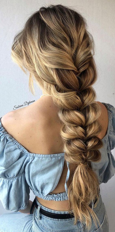 Cute braided hairstyles to rock this season : Boho style