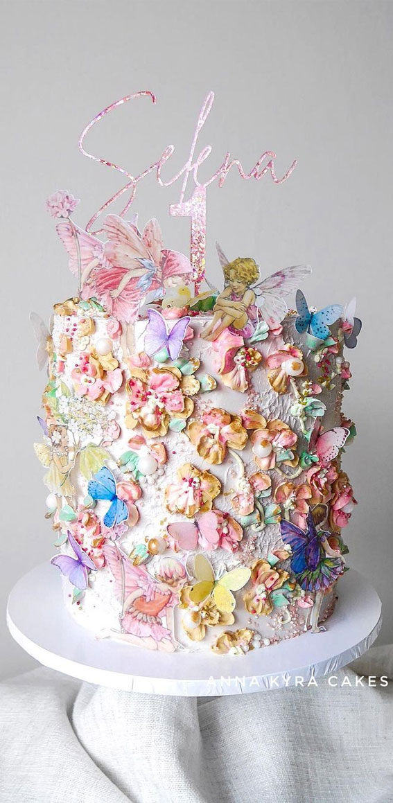 Pretty Cake Decorating Designs We've Bookmarked : mystical fairy cake