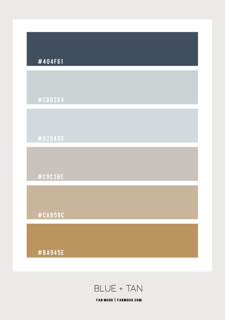 blue and tan color hex, blue and tan color scheme, blue and tan color scheme, light blue and linen color scheme, color combo #colorcombo #colorpalette #color