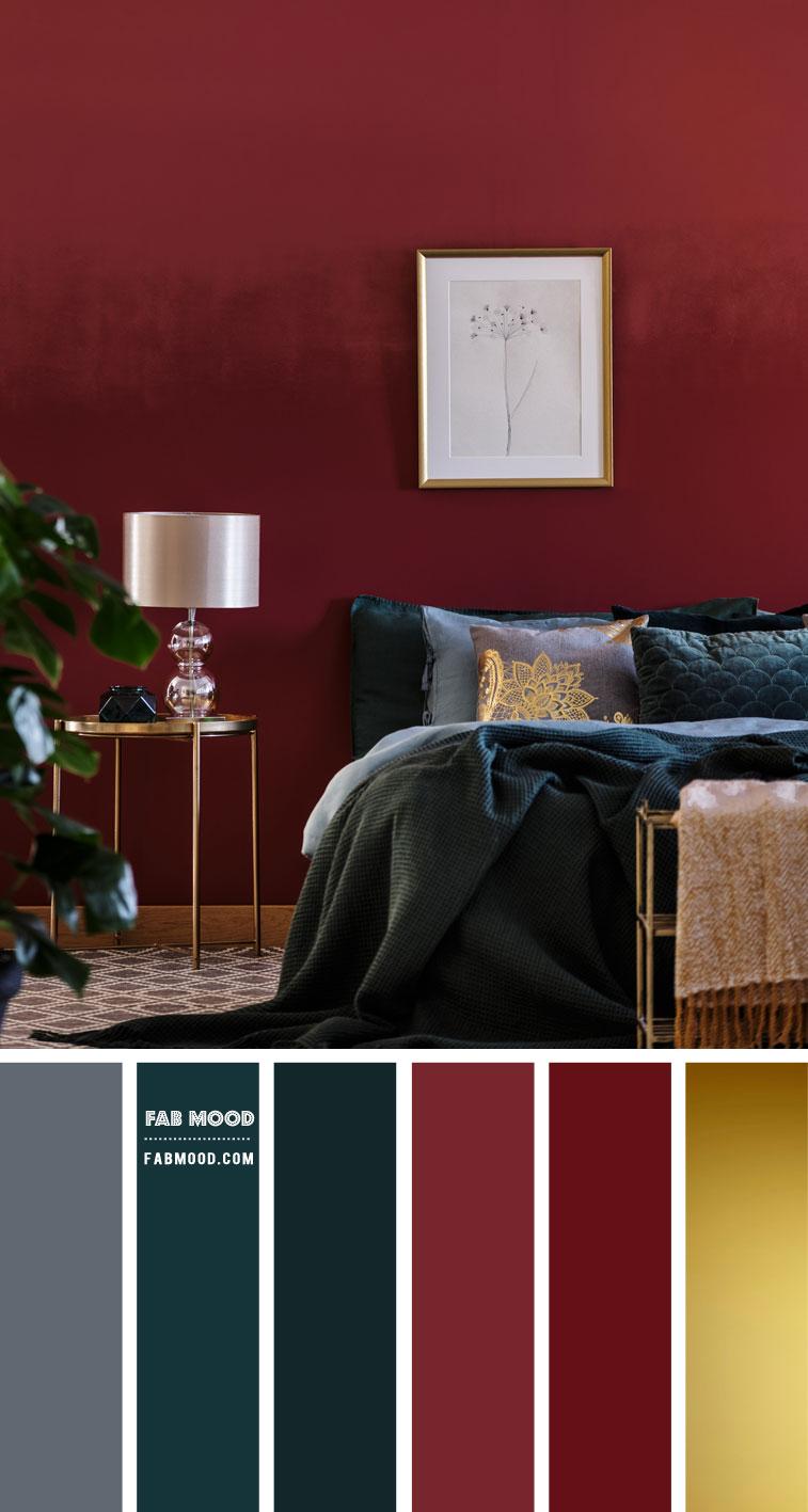 burgundy and navy blue bedroom, burgundy bedroom color scheme