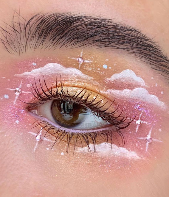 Latest Eye Makeup Trends You Should Try In 2021 : Castle on a cloud