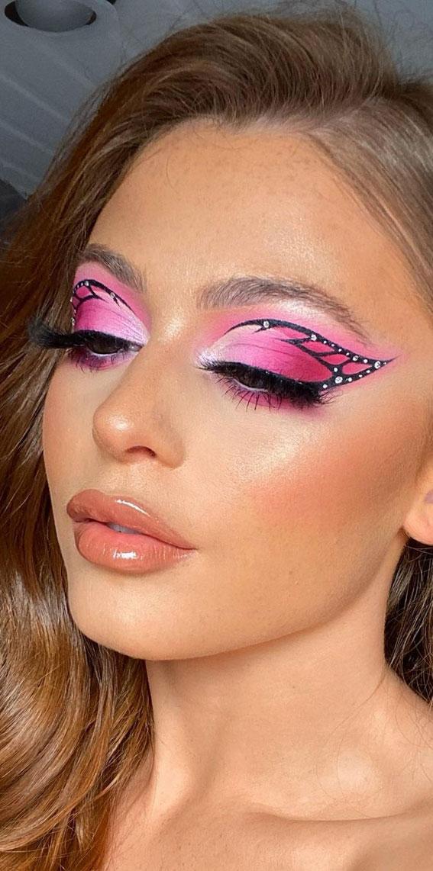 Creative Eye Makeup Art Ideas You Should Try : Butterfly effect