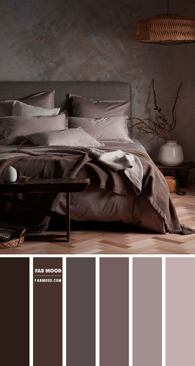 muted grey mauve bedroom color combo, muted grey plum bedroom, muted grey mauve bedroom, muted mauve bedroom color scheme, bedroom color scheme #bedroom #bedroomcolor