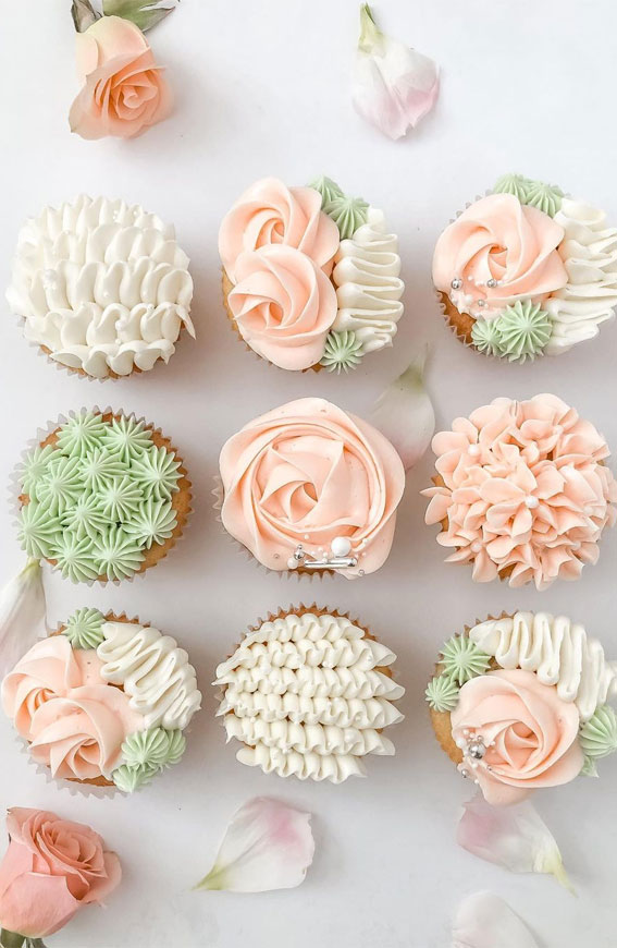Sweet Treat Cupcake Ideas For Any Celebration : Pastel Dreamy Cupcakes