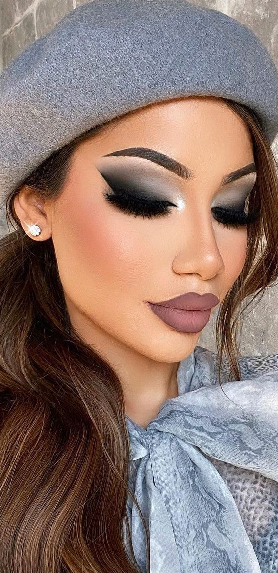 smokey eye makeup look, makeup za smeđe oči, najbolja šminka za smeđe oči, najbolje sjene za smeđe oči u 2021. godini