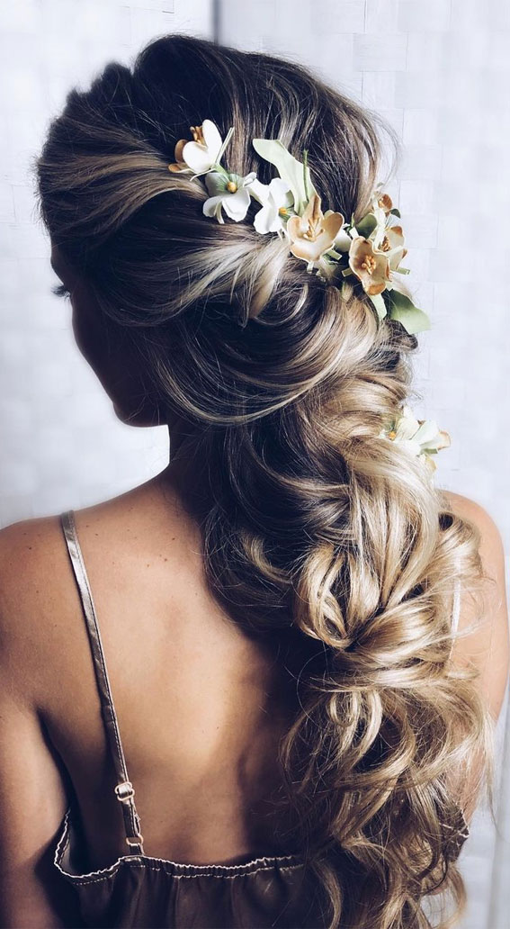 Half Up Half Down Hairstyles For Any Occasion : Simple half up long locks
