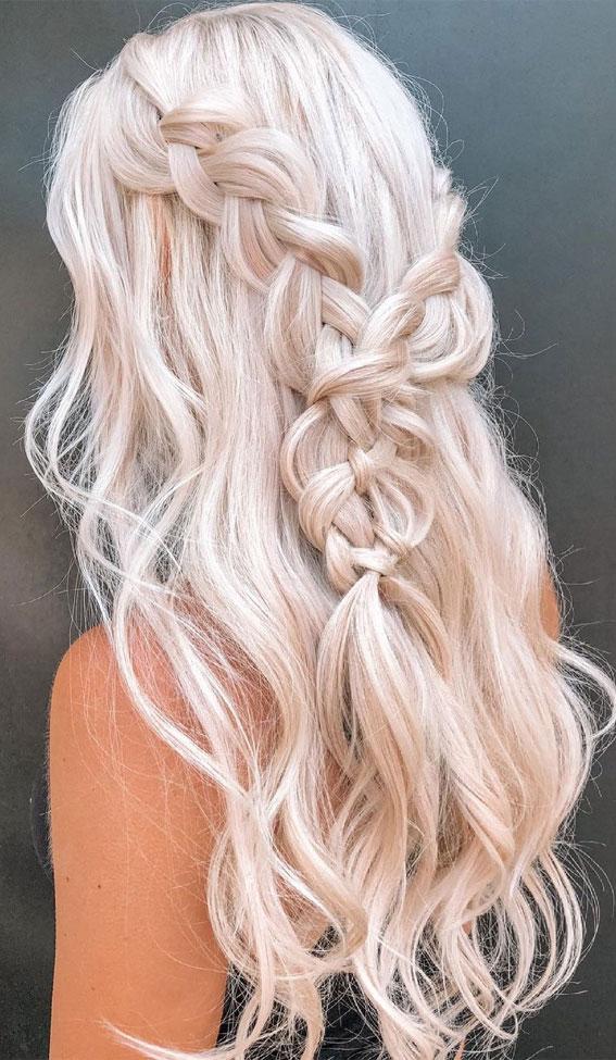 24+ Braid Hairstyles That Really Jazz Up Your Hair : Khaleesi Braid
