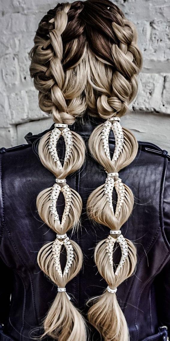 festival hairstyle, braid hairstyle, festival braid hairstyle