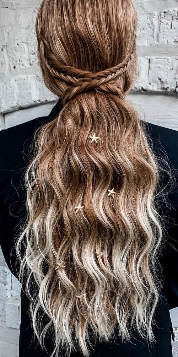 small braid ponytail, festival hairstyle, braid hairstyle, festival braid hairstyle