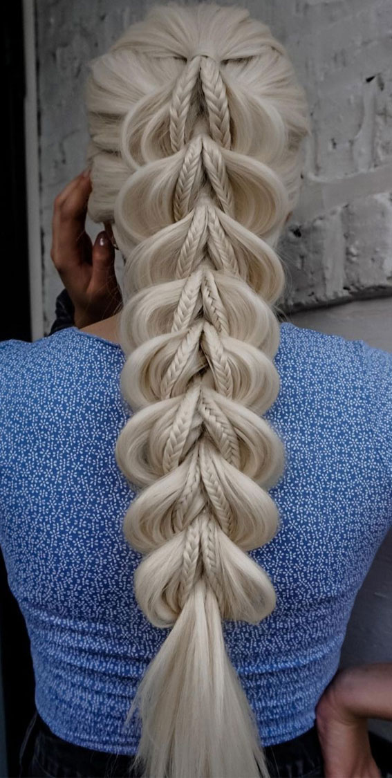 cute braided hairstyles, chunky braid, braided hairstyles, braided hairstyles for short hair, braided hairstyles, braids hairstyles for school girls, braids hairstyles 2021, braid hairstyles, pull through braid hairstyles