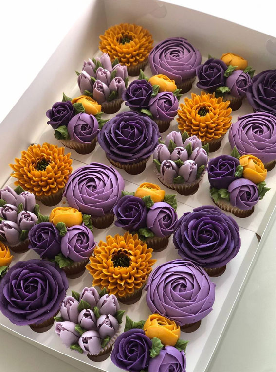 35+ Cute Buttercream Cupcake Decorating Ideas :