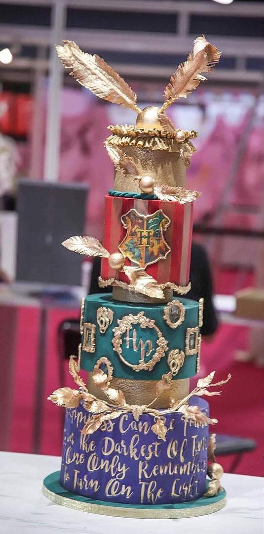 30+ Cute Harry Potter Cake Designs : Beautiful Harry Potter Cake