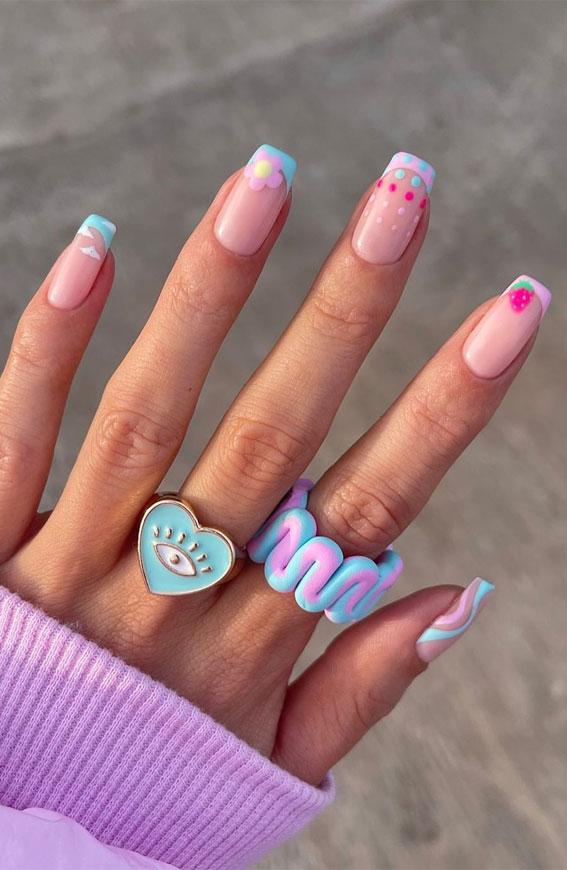 summer nails 2021 , summer nail trends 2021, 2021 nail colors by month, nails 2021 summer, summer nail ideas 2021, summer nails 2021 acrylic, nail colours summer 2021 uk, cute summer nails 2021, short summer nails 2021, bright summer nails 2021