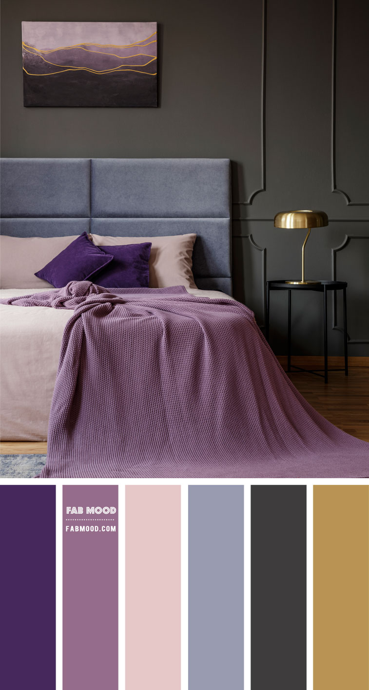 Beautiful Cool Tone Colour Palette for Bedroom