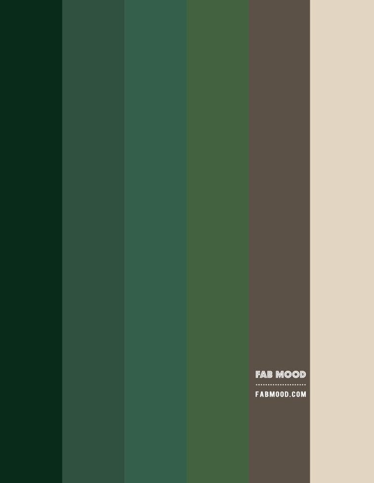 green color hex, green color scheme, green color ideas, shades of green