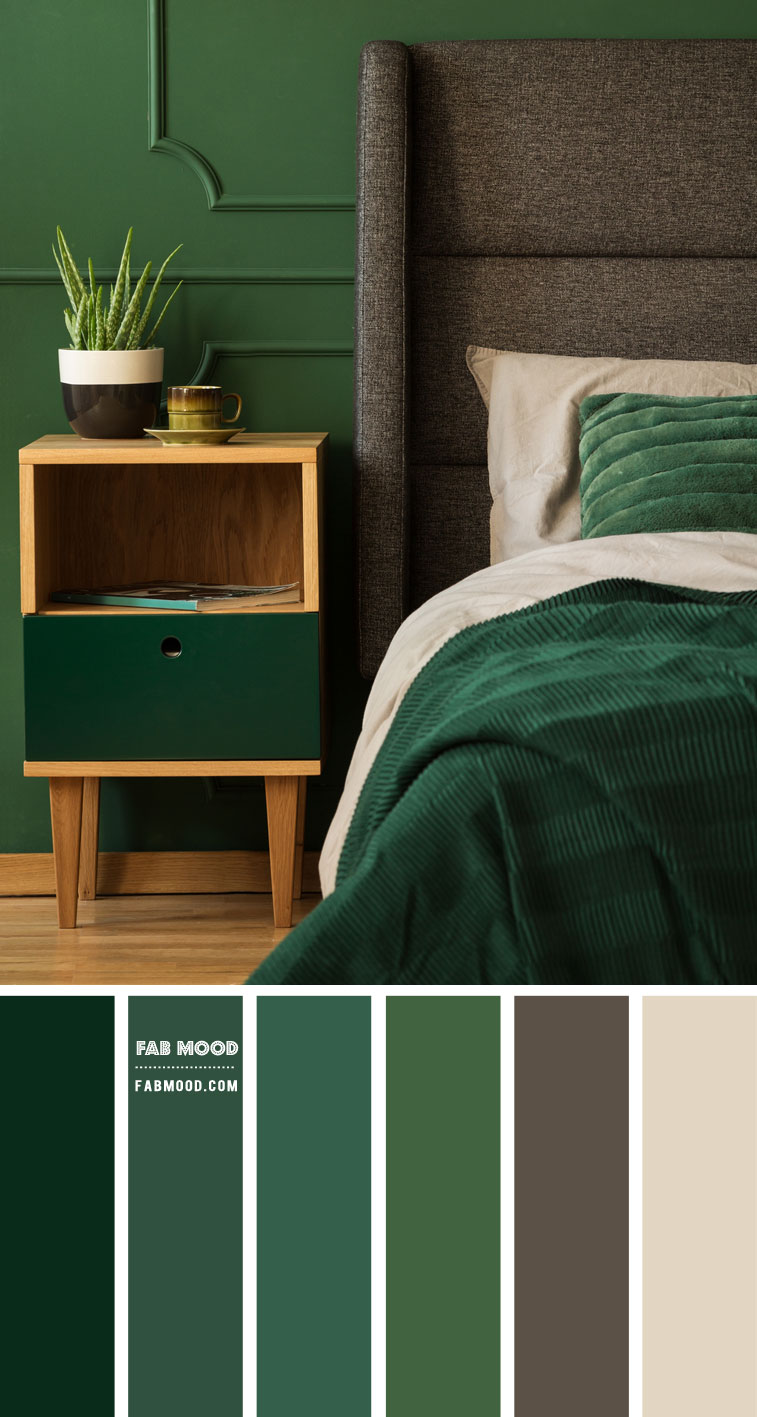 Green Bedroom Color Scheme That Brings Comfort Calm and Peace
