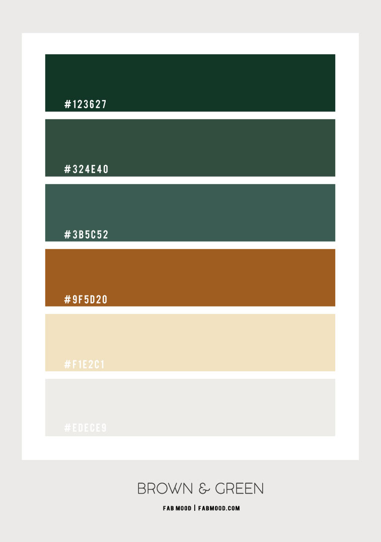 color hex, brown and green colour scheme, brown and green gradient , brown and green colour combo