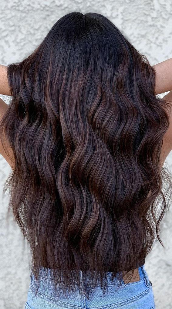 25 Dark Chocolate Brown Hair Ideas : Chocolate Brunette