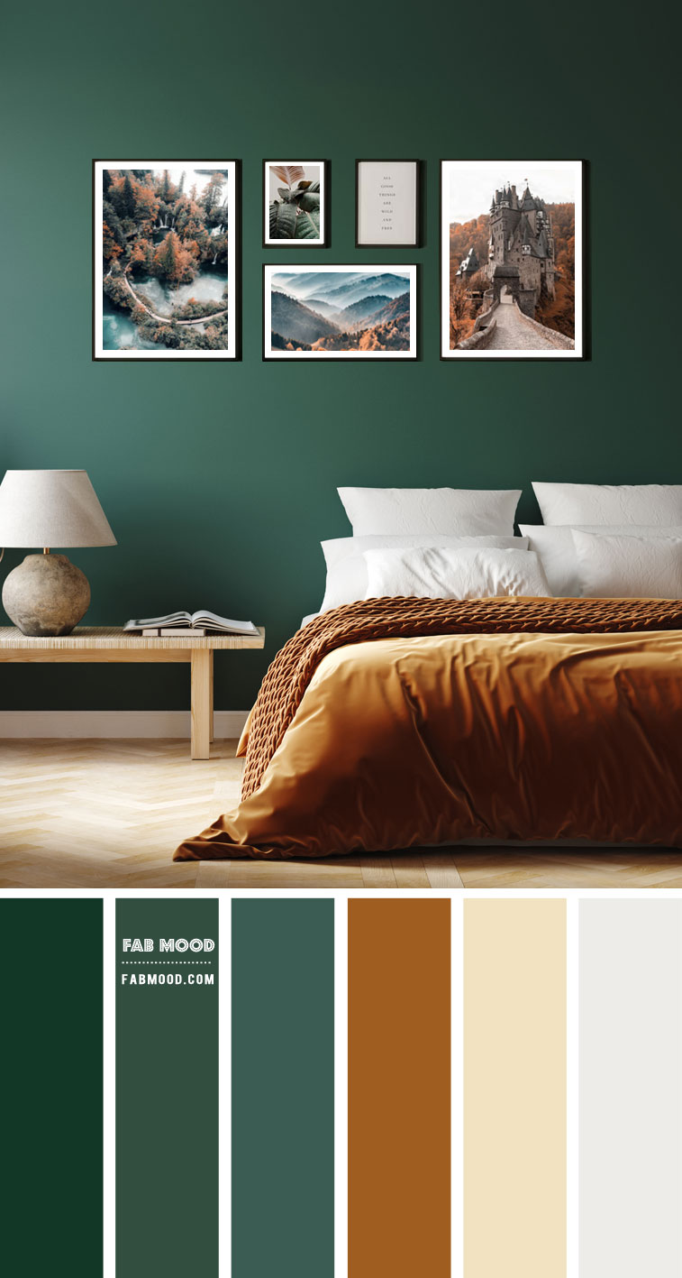 brown and green bedroom colour scheme, green and brown bedroom, green and brown color scheme for bedroom, green and brown color palette, best color scheme for bedroom