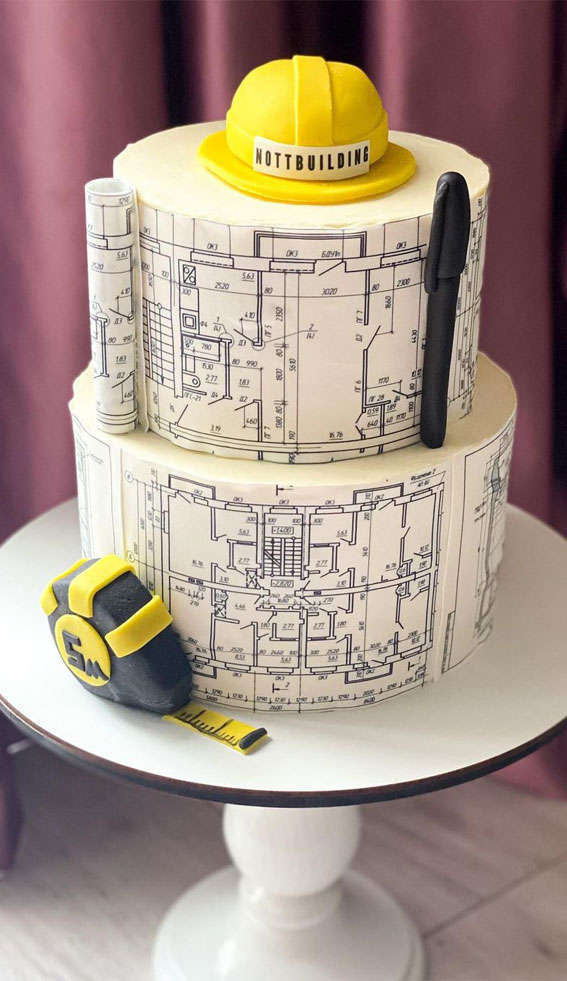 39 Cake design Ideas 2021 : Architecture Cake
