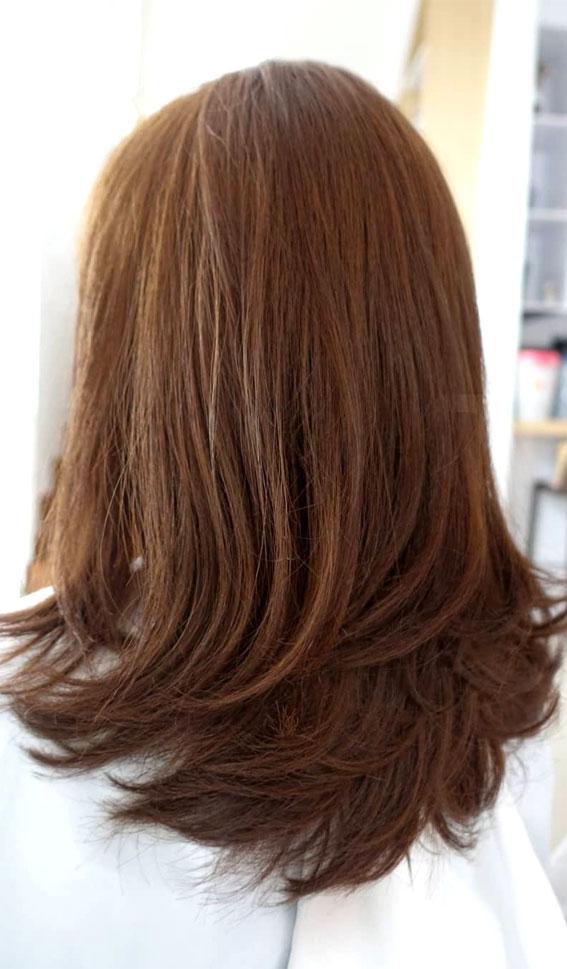 35 Best layered haircuts 2021 : Brownie Layered Haircut