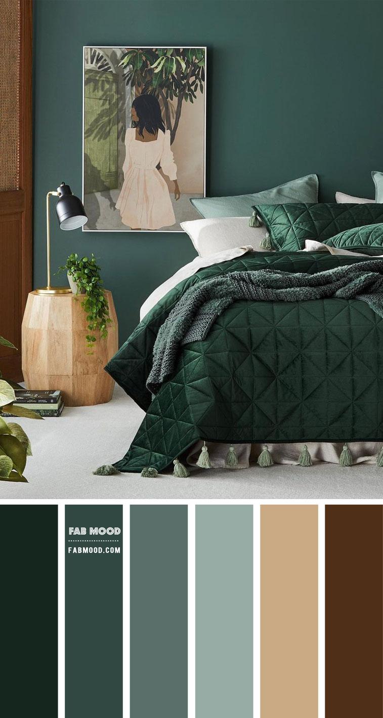 Pine Green Bedroom : 14 Beautiful Bedroom Colour Schemes