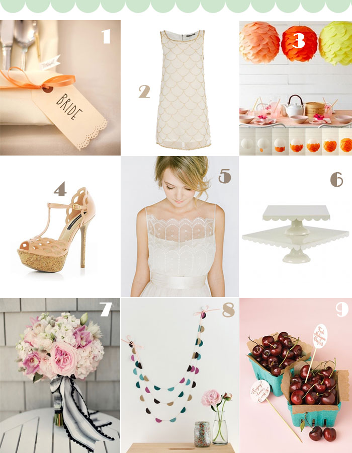 Trending Your Wedding – Scallop theme
