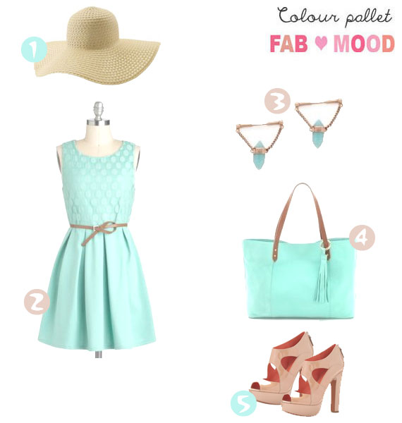 Mint lover weekend outfit
