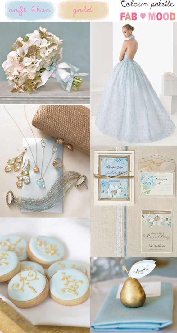 Blue And Gold Wedding Colours Palette Ideas Blue Gold Wedding Colors