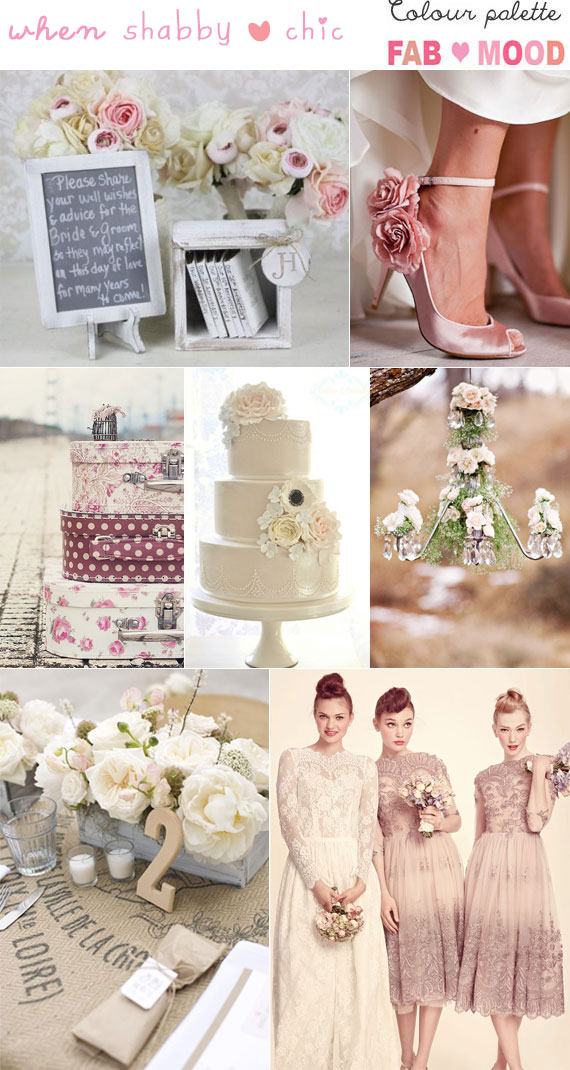 Shabby chic wedding ideas , Chic weddings