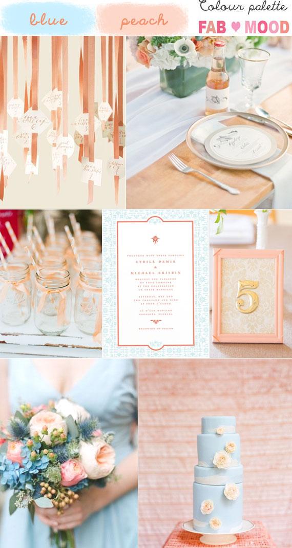 blue peach wedding ideas,blue peach wedding theme,blue peach wedding colour mood board