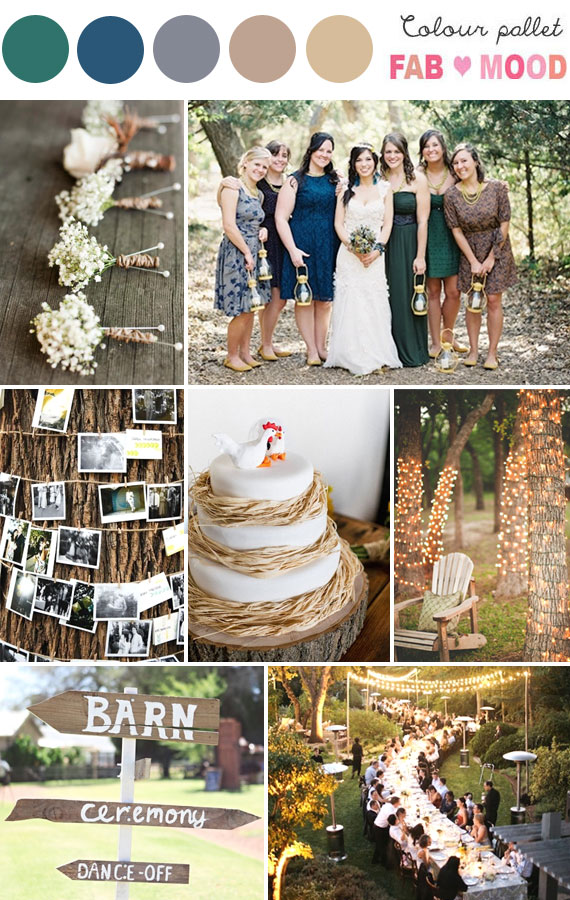 Rustic wedding board 1 fab mood wedding colours wedding themes