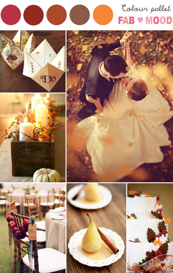autumn wedding board, autumn wedding ideas, autumn wedding decorations autumn wedding photos