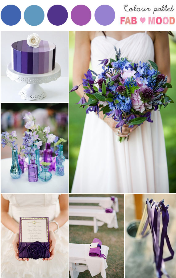 purple blue wedding colors,shades of purple blue wedding,purple lilac blue teal wedding colour,purple blue wedding theme,wedding colours blue and purple