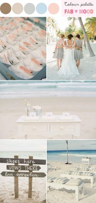 beach wedding ideas,neutral grey beach wedding