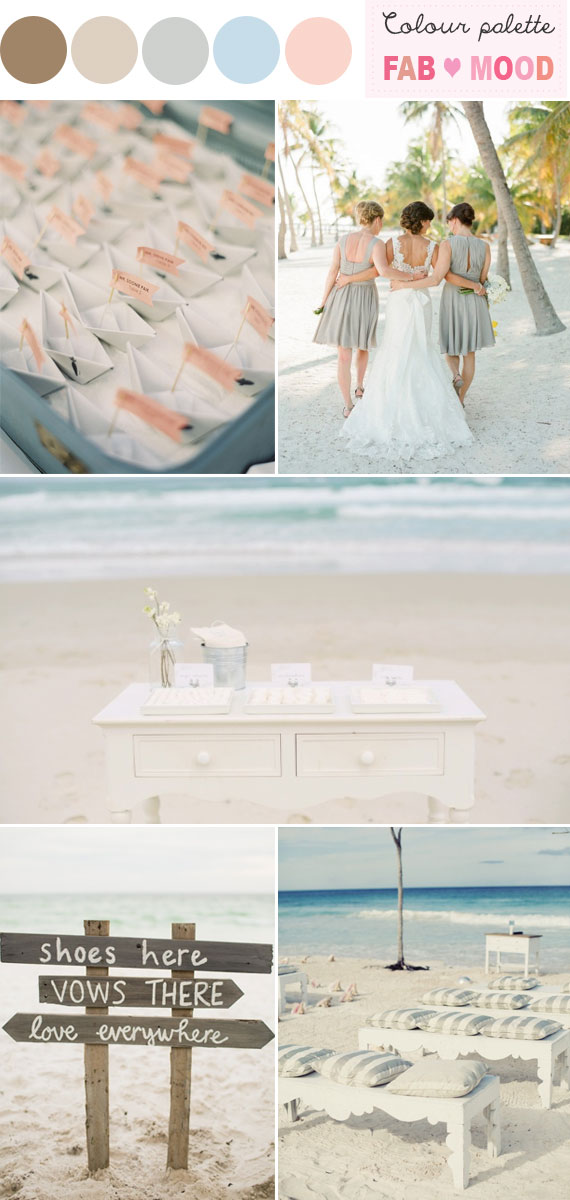 Beach Wedding Colors Ideas, beach wedding palettes