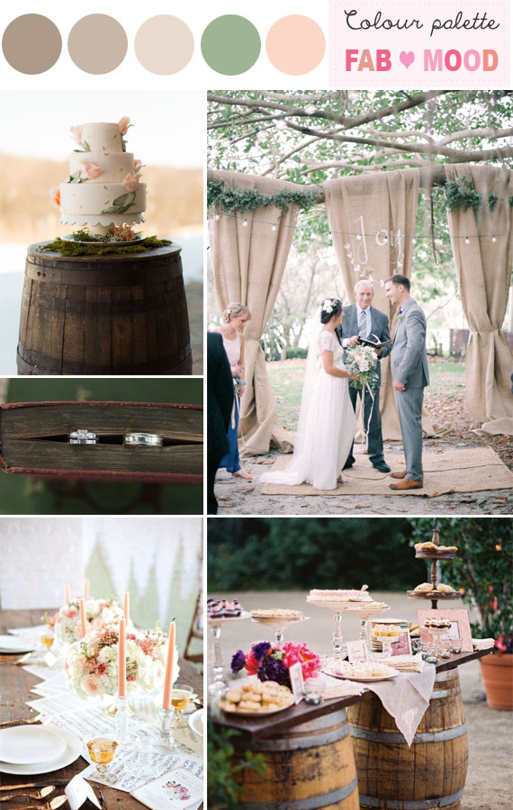 Rustic Wedding Ideas Colors