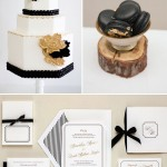 Black White Gold Wedding Colors, A Glittering Affair