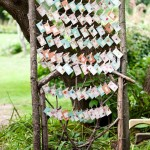 pretty rustic escort cards