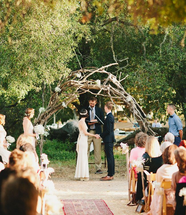 Rustic wedding ceremony idea fab mood wedding colours for Country wedding processional songs