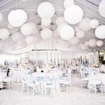 white wedding reception, wedding reception ideas,