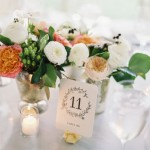 wedding centerpieces, wedding centerpeces Flowers in Mercury Glass Vases