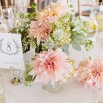 Pink Dahlia Centerpiece,wedding centerpieces