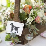 boxed wood centerpieces, wedding centerpieces ideas