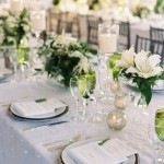 white green wedding centerpieces candle centerpieces