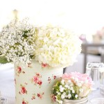 chic centerpieces country wedding